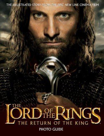 libro the lord of the libro the lord of the rings trilogy photo guide di