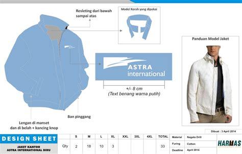 desain jaket warna biru desain jaket konveksi seragam kantor pakaian kerja