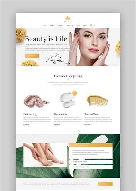 wordpress themes presentation 17 best spa beauty salon wordpress themes for 2017