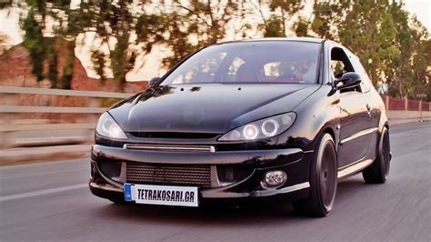 peugeot 206 turbo peugeot 206 turbo 450hp diamantis racing autokinisimag