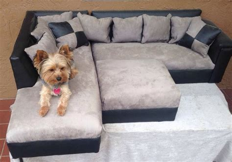 dog bed couch modern dog sofa bed ottoman pet couch pillow yorkie