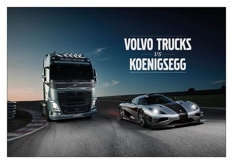 volvo truck ad a volvo fh challenges one of the s fastest sports