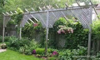 garden fence screen privacy ideas empress of dirt