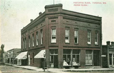Post Office Eau Wi by Postcards From Eas County Wisconsin