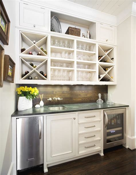 Build Your Own Kitchen Cabinet Wet Bar Ideas Home Bar Traditional With Open Storage Open