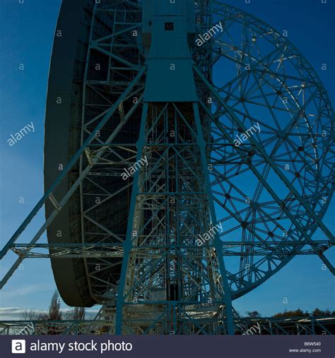 hshire bank lovell telescope jodrell bank cheshire uk stock photo
