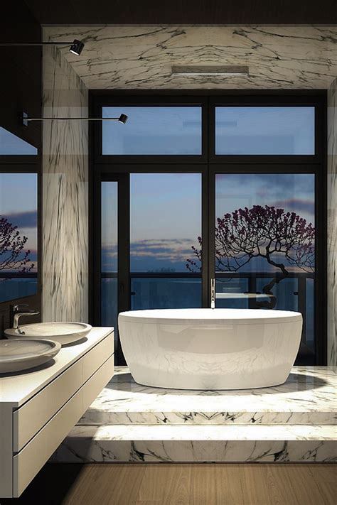 Luxury Modern Bathrooms by 10 Luxury Bathtubs With An Astonishing View