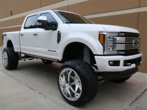 Brand new 2017 Ford F 250 Platinum monster truck for sale