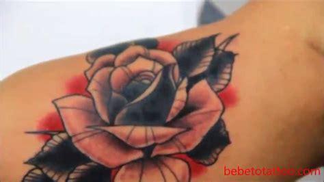 bebeto tattoo studio tatuagem de rosa tradicional old