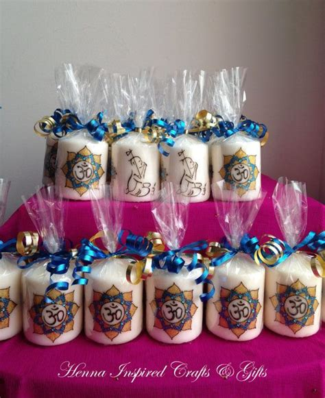 Baby Shower Return Gifts For Guests by Set Of 50 Candles Made To Order Indian Favors Return