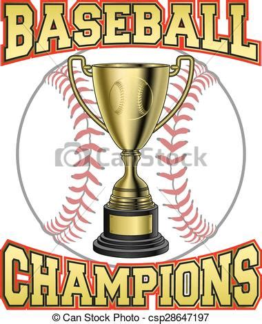 eps vectors of baseball champions is an illustration of a