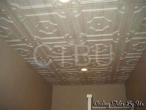 Decorative Ceiling Tile by Styrofoam Ceiling Tiles Installed