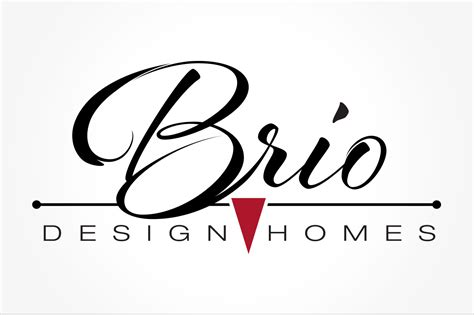 home design brand logo design by pop dot marketing agency in wi brio