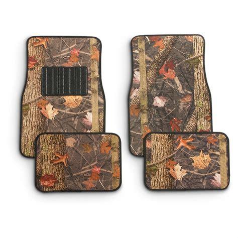 king s camo 174 4 pc camouflage carpet floor mat set