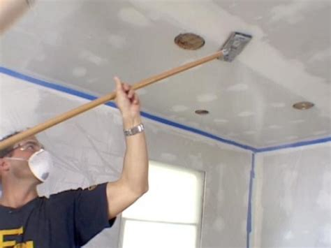 how to finish drywall ceiling how to hang drywall diy