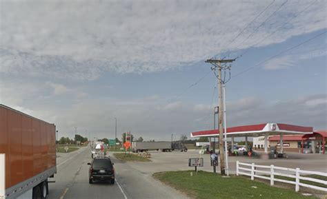 truck illinois pedestrian dies after being hit by truck near fuel pumps