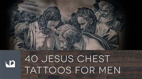 jesus chest tattoos for men 40 jesus chest tattoos for