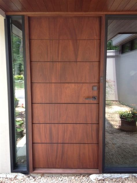 Front Door On Pinterest Modern Front Door Entry Doors Front Door Modern Design