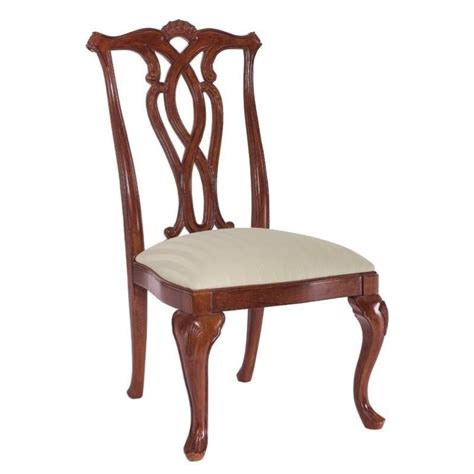 Dining Chairs Cherry American Drew Cherry Grove Pierced Back Dining Side Chair In Cherry 792 654