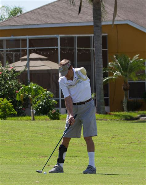 one handed golf swing 2014 florida open tournament for golfers with disabilities