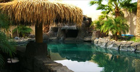 City Backyard Landscaping Ideas Tropical Pools And Design Lake Havasu City Az
