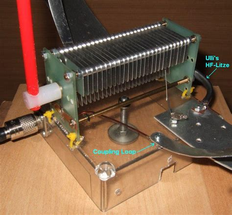 tuning capacitor loop antenna a few qrp homebrew projects