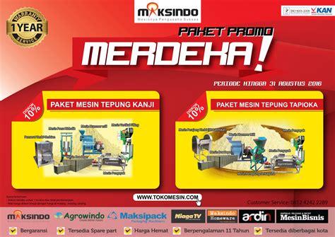 Jual Mesin Pelet Ikan Di Bandung paket promo merdeka up to 10 toko mesin maksindo