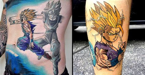 10 powerful gohan tattoos tattoodo