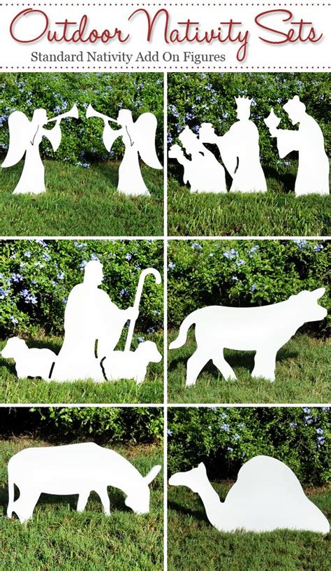 Best 25 Outdoor Nativity Scene Ideas On Pinterest Nativity Yard Sign Template