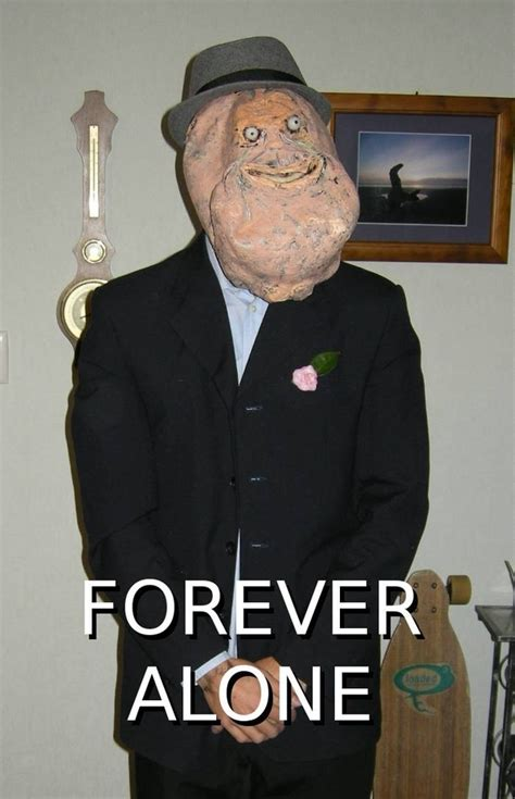 Halloween Costume Meme - forever alone costume weknowmemes