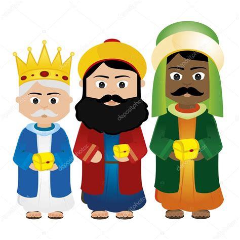 imagenes de reyes magos caricatura reyes magos vector de stock 53270231
