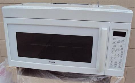 bosch microwave the range the cabinet
