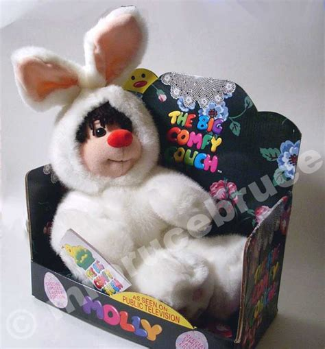 comfy sofa ltd big comfy couch molly in easter bunny suit new video ebay