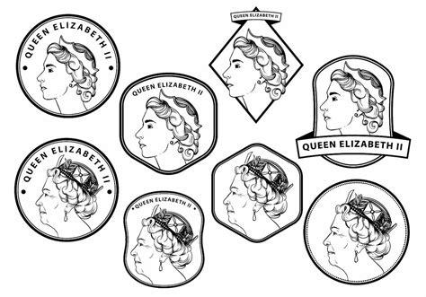 Queen Elizabeth Badge Set - Download Free Vector Art ... Free Clipart Queen Elizabeth