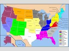 United States Background Radiation Map