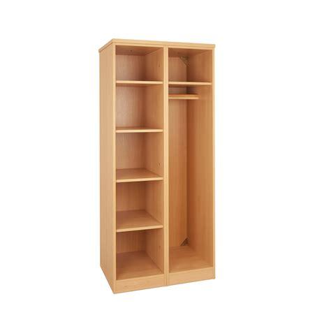 open shelf tough plus open wardrobe shelf unit h1803 x w810 x d595