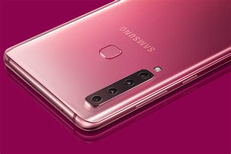 how many the samsung galaxy a9 has 4 lenses on the back digital trends