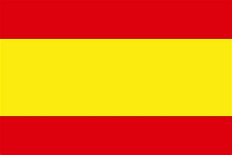 color flag spanish yellow file color banner svg wikimedia commons