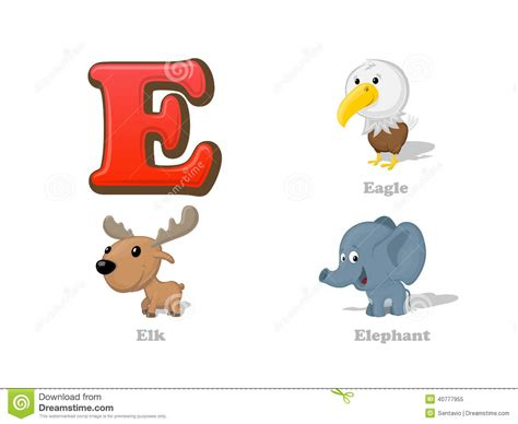 99 q to u animals collection stock images page everypixel abc letter e kid icons set eagle elk elephant
