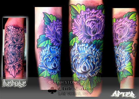 tattoo cover up hollywood joshstono peony cover up
