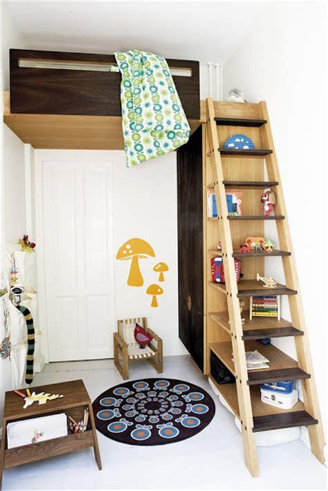 camas elevadas  el dormitorio infantil