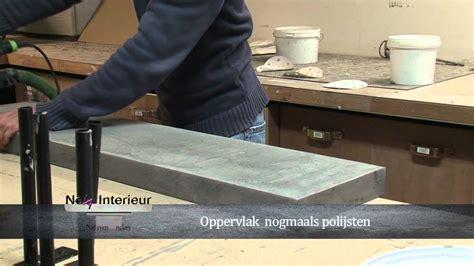 Beton Tischplatte Polieren by Workshop Beton Cir 233 Yellostone Mov Youtube