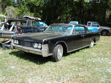 1965 lincoln continental convertible for sale black 1965 lincoln continental convertible black