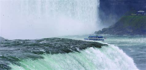 niagara falls boat tour january good news hints at better days for niagara falls hamodia