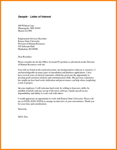 12 Simple Letter Of Interest Sle Legacy Builder Coaching Letter Of Interest For Template
