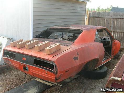 wrecked camaro rebuildable muscle cars unrestored and wrecked camaros
