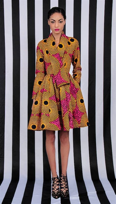 new ghanaian clothing styles new the gugu wrap coat dress by demestiksnewyork african