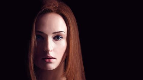 android hd actress wallpaper 30 sophie turner wallpapers hd free download