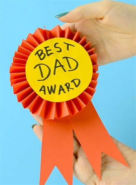 easy fathers day craft ideas homemade gifts  dad