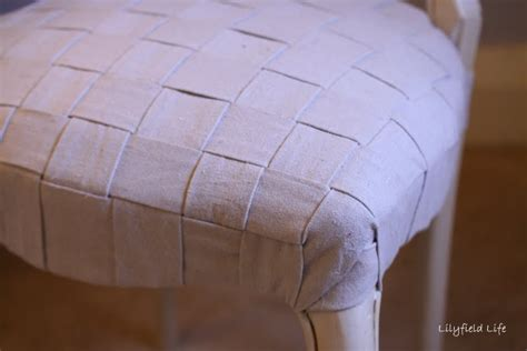 chair upholstery tutorial lilyfield life diy woven upholstery tutorial on a french